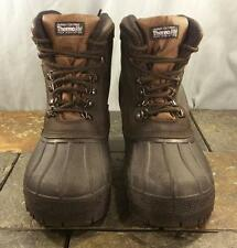 Northwest Territory Brown Leather Thermolite All Weather Work Boots Men's Size 6