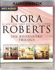 Nora Roberts Inn BoonsBoro Trilogy All 3 Unabridged Audio Books on MP3-CD
