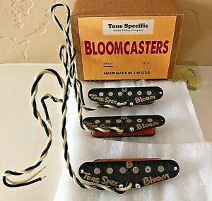 Bloomcaster Strat Pickups by Tone Specific. Fits MJT Body & Fender Stratocaster