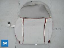 NEW GENUINE FIAT 500 PASSENGER SIDE FRONT RED IVORY LEATHER SEAT COVER 71749296