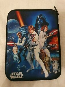 Star Wars Case Protective Tablet Devise 9 by7 inch zip