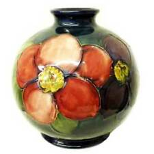 Moorcroft Pottery... brilliant Clematis Vase designed by William Moorcroft