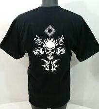 Captain Morgan Tattoo Rum T Shirt Men's XL Wicked Black Skull & Scorpions Tee