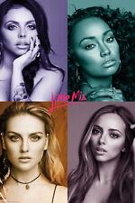 Little Mix Quad Music Pop Maxi Poster Print 61x91.5cm | 24x36 inches