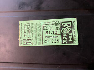 Vintage 1939 Cincinnati Reds Baseball Club Ticket Stub