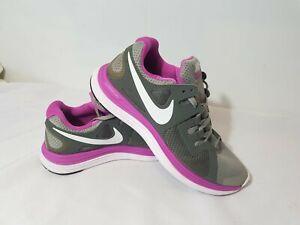 NIKE LUNARFLASH+ Womens/Girls Shoes 8 US 5.5UK 39 EURO 25CM Grey/Pink LUNARLON