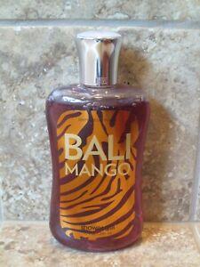 NEW Bath & Body Works Bali Mango Shower Gel 10 oz. - RETIRED FRAGRANCE