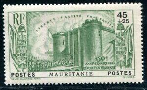 MAURITANIE 1939 Yvert 100 ** POSTFRISCH TADELLOS (09688