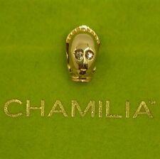 CHAMILIA Star Wars 2010-1882. C3PO plata dorada con topacios Swarovsky