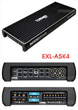 DS18 EXL-A5K4 5000 WATT 4 CHANNEL AMPLIFIER CAR STEREO SUBWOOFER/SUB WOOFER AMP