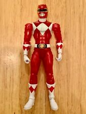 mighty morphin power rangers legacy collection metallic red ranger