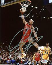 DENNIS RODMAN #2 REPRINT AUTOGRAPHED SIGNED PICTURE PHOTO COLLECTIBLE BULLS RP