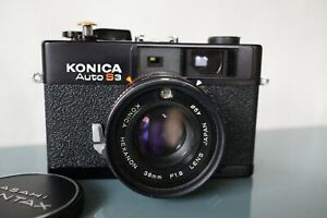Konica Auto S3,cleaned ,tested, fully functional ,great condition