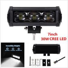 Universal 7inch 30W 8D CREE LED Work Light Bar Spot Driving Fog Lamp Offroad 4WD