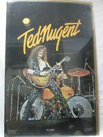TED NUGENT HARD ROCK VINTAGE POSTER GARAGE 1978 CNG262