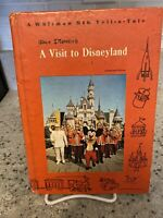 1965 Disney A Visit to Disneyland Vtg Whitman Big Tell Tale Book