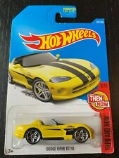 Hot Wheels Yellow Dodge Viper Rt/10, Then And Now, #281, 9 of 10.