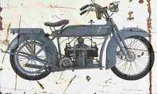 Victoria KR1 1921 Aged Vintage SIGN A4 Retro