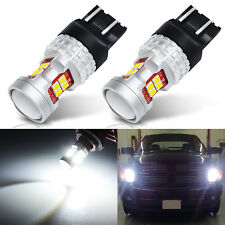 Fit for Toyota/Honda/Acura/Scion White 7443 Turn signal LED Light Bulbs 13SMD 2x