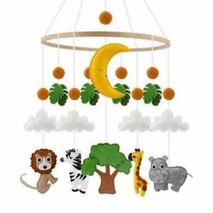 Baby mobile Woodland mobile Jungle mobile Mobile Nursery Felt Mobile Crib Toy
