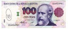 Argentine ARGENTINA Billet 100 PESOS ND 1993 P345 JULIO ARGENTINO ROCA BON ETAT