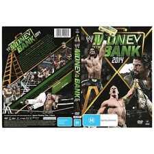 WWE - Money In The Bank 2014 Bonus Lanyard Keychain (DVD, 2014) New  Region 4