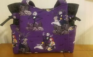 Nightmare Before Christmas Handmade Shoulder Tote /Purse/Handbag