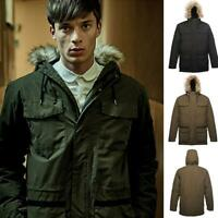 Mens Regatta Originals Ardwick Classic Parka Faux Fur Hooded Waterproof Jacket