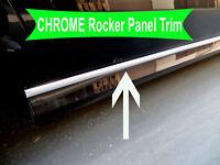 2005-2018 Volkswagen Chrome SIDE ROCKER PANEL Trim Molding Kit 2PC