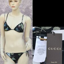 GUCCI New sz M Auth Designer Womens Swim Suit Swimwear Bathing Swimsuit Bikini
