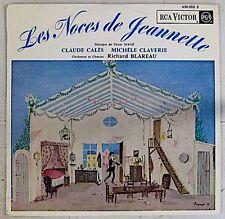 Peynet 33 tours Noces de Jeannette Victor Massé 1962