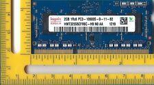Hynix 2GB PC3-10600 DDR3 1333MHz non-ECC Unbuffered CL9 204-Pin SoDimm Memory
