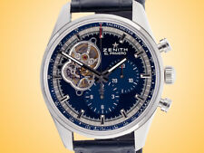 ZENITH Chronomaster El Primero Open Blue Dial Automatic Stainless Steel Watch