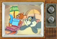 "TOM & JERRY TV Fridge MAGNET 2"" x 3"" SATURDAY MORNING CARTOONS"