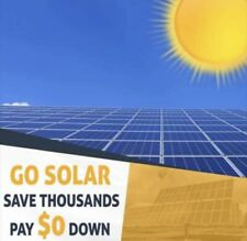 Solar Panels 0 Down, Own Your Electricity Stop Renting It, Pay Less For Solar