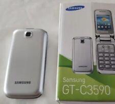 Téléphone Mobile SAMSUNG GT-C3590 - Argenté - Désimlocké