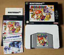 Mario Party for Nintendo 64 (N64) - Boxed With Manuals Complete PAL
