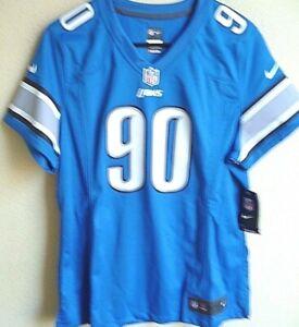 Women's NFL Detroit Lions Football Ndamukong Suh #90 Game Jersey XL NWT 469899