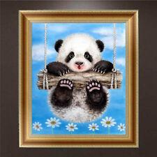 DIY 5D Diamant Panda Broderie Peinture Point de croix Artisanat maison mur Décor