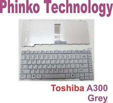 BRAND NEW Keyboard for Toshiba Satellite A200 A300 L300 L510 US layout Grey
