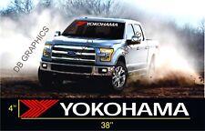 Yokohama Tires ford dodge chevrolet Banner Windshield sticker Decal window