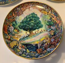 "Franklin Mint Heirloom Bill Bell ""Paradise"""