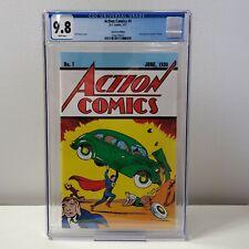 Action Comics #1 - DC Comics Lootcrate Edition Reprint - CGC 9.8 WHITE Pages