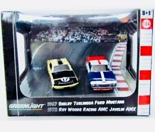 🏁 Greenlight 1972 Roy Woods AMC Javelin AMX - Shelby Terlingua Road Racers 🏁