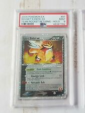 PSA 9 Rockets Entei EX 97/109 - Team Rocket Returns Pokemon Card - Mint