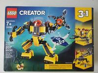 3 in 1 Lego Creator Underwater Robot 31090 207 pcs Brand New factory sealed!