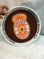 New Castel Brown Ale Beer Tray Serving Tray 12in Upontyne England