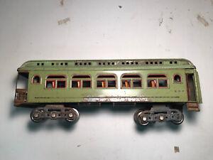lionel prewar standard gauge passenger cars #490 Apple Green