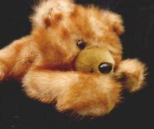 Brown Bear Plush 19 inch MJC International Stuffed Animal 1992 Lying Down Soft