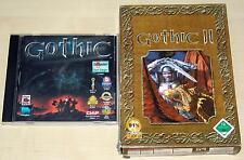 2 PC Giochi Set-Gothic I & II - 1 2-Kult Gioco di Ruolo Classico